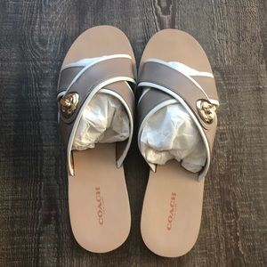 Coach Coral Semi May Calf (sandals)